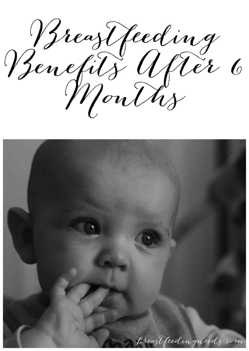 Benefits of breastfeeding after 6 months