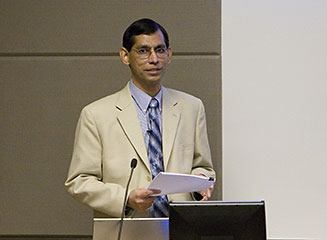 Dr. Ahmed Faruque of the CDC photo.