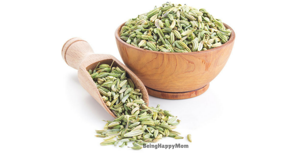 fennel seeds in constipation in babies