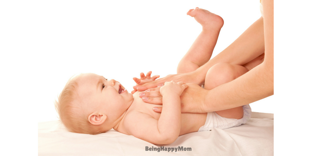 baby massage in constipation