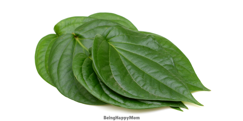 betel leaves for constipation